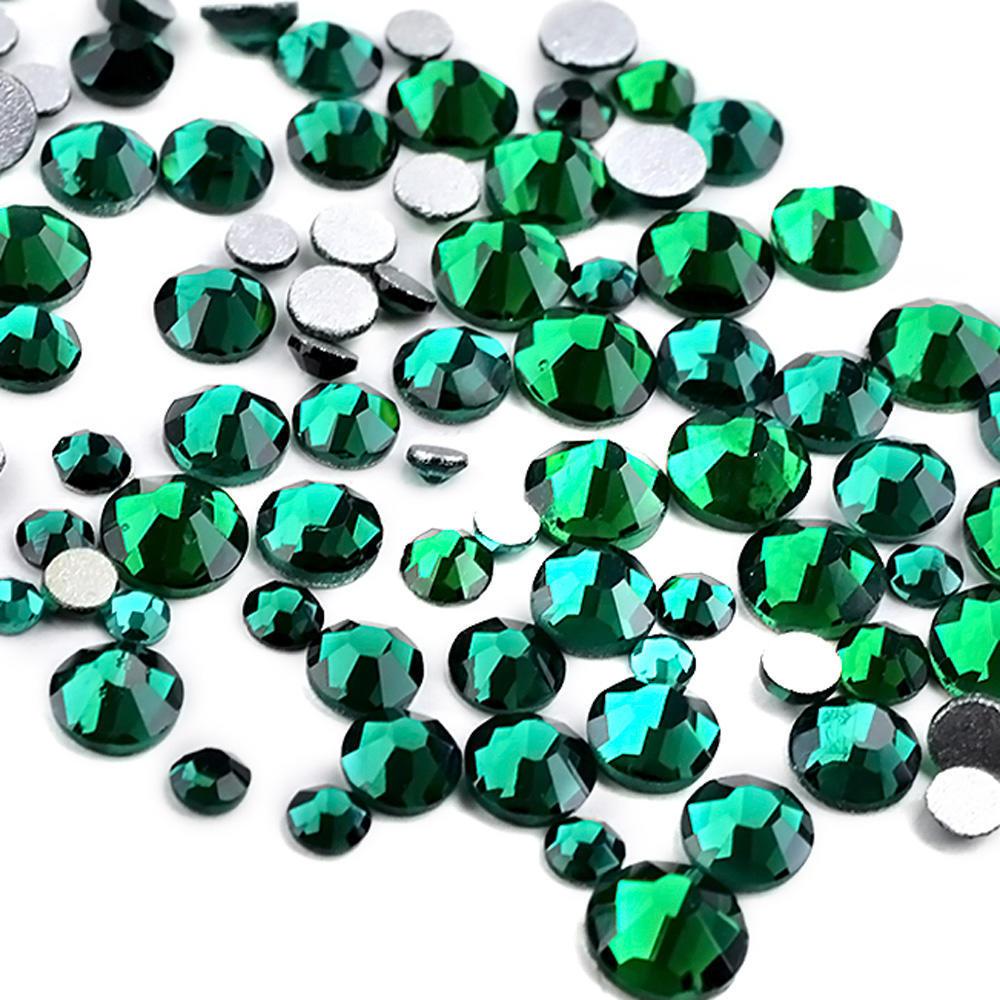 300pcs/Pack cristal Rhinestone Hotfix no Nail Art decoración de uñas ...