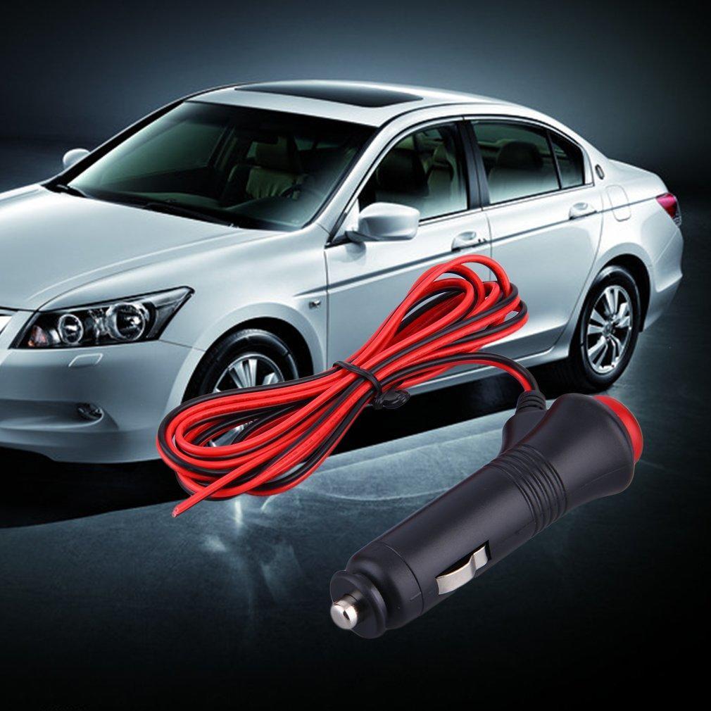 12 V 24 V Auto Del Autom/óvil Masculino Cigarrillo Encendedor Enchufe Enchufe Conector En Off Switch 1.5 m Conector Universal Interruptor