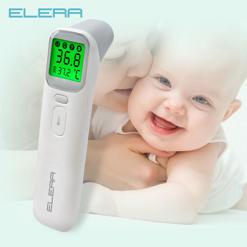 ELERA Thermometer Forehead /& Ear Infrared Digital LCD Non-Contact