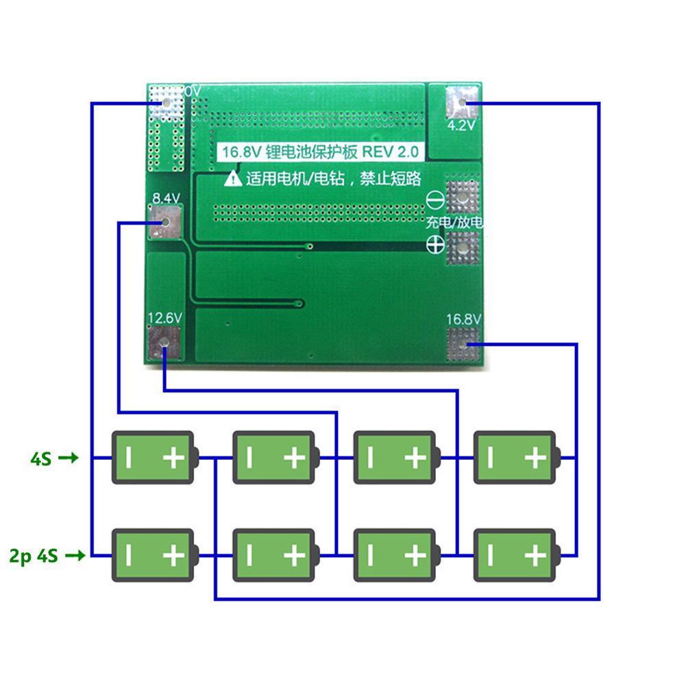 1//2//5//10PCS 2S 8A Balance 18650 Chargeur batterie Lithium BMS Protection Board