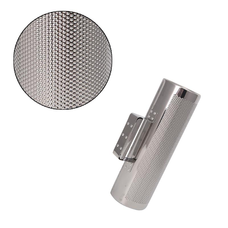 Bnineteenteam Metal Guiro Percussion Instrument Stainless Steel Guiro Musical Training Tool with Scraper