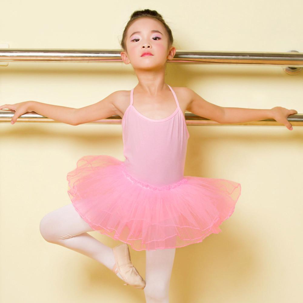 Details about  /Girls Ballet Dance Dress Kids Sparkle Leotard Tutu Skirt Gym Skating Dancewear