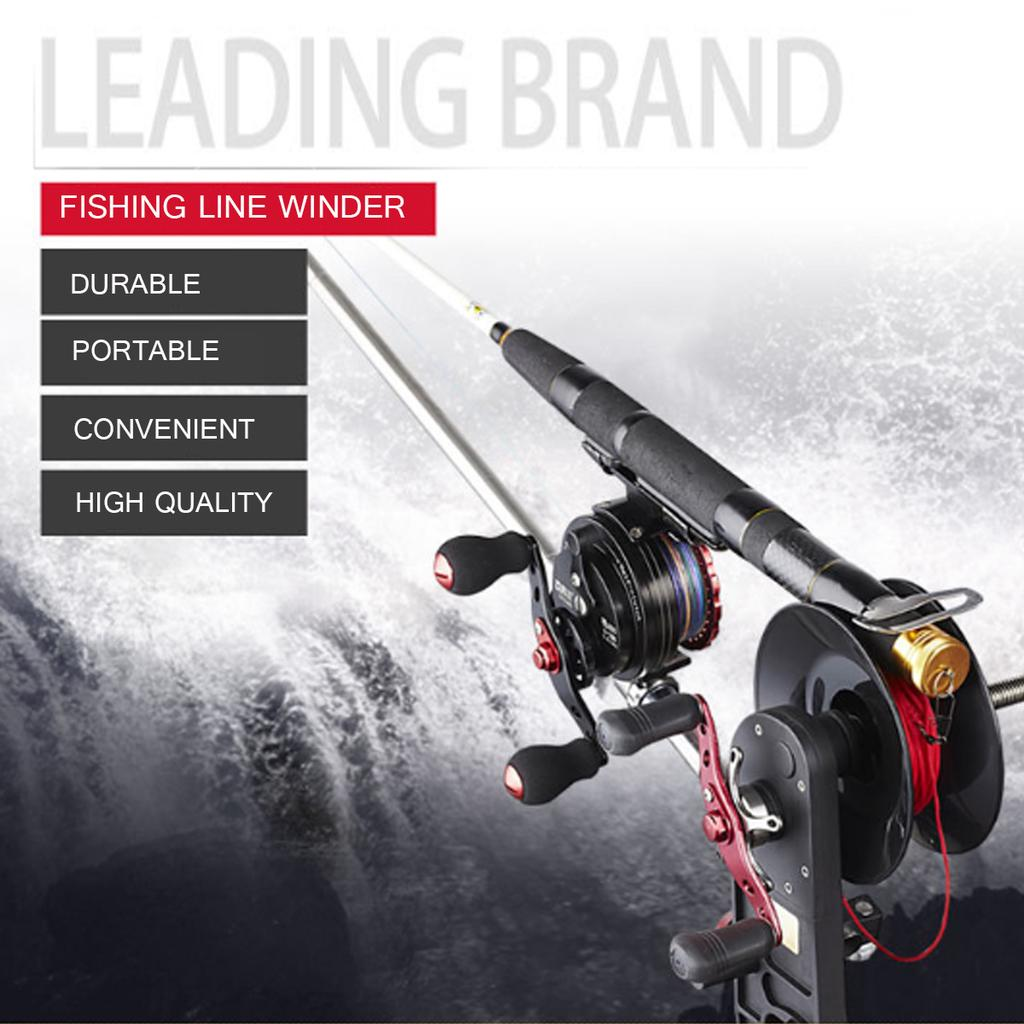 Portable Fishing Line Winder Reel Spool Spooler System  Fishing Line With Clamp