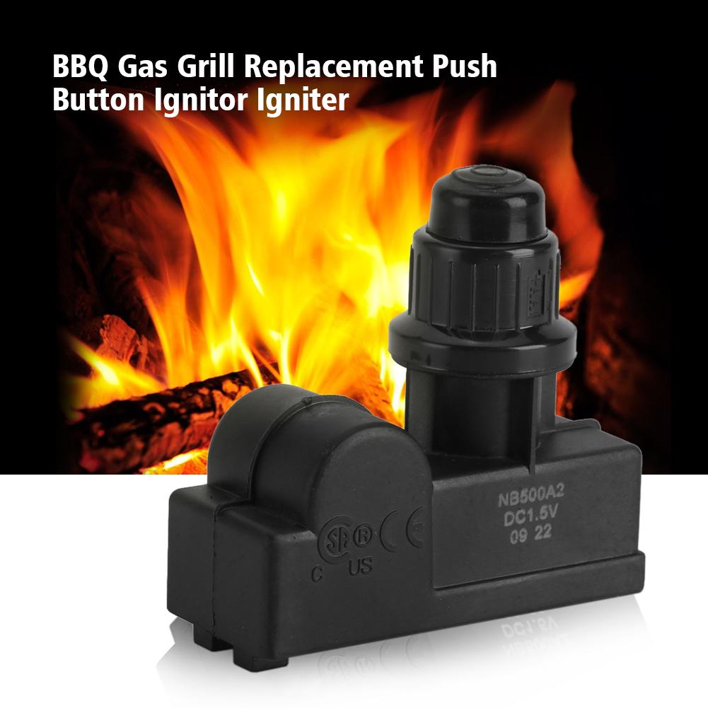 DC1.5V Battery Powered BBQ Gas Grill Spark Generator 2 Outlet Ignitor Igniter MN