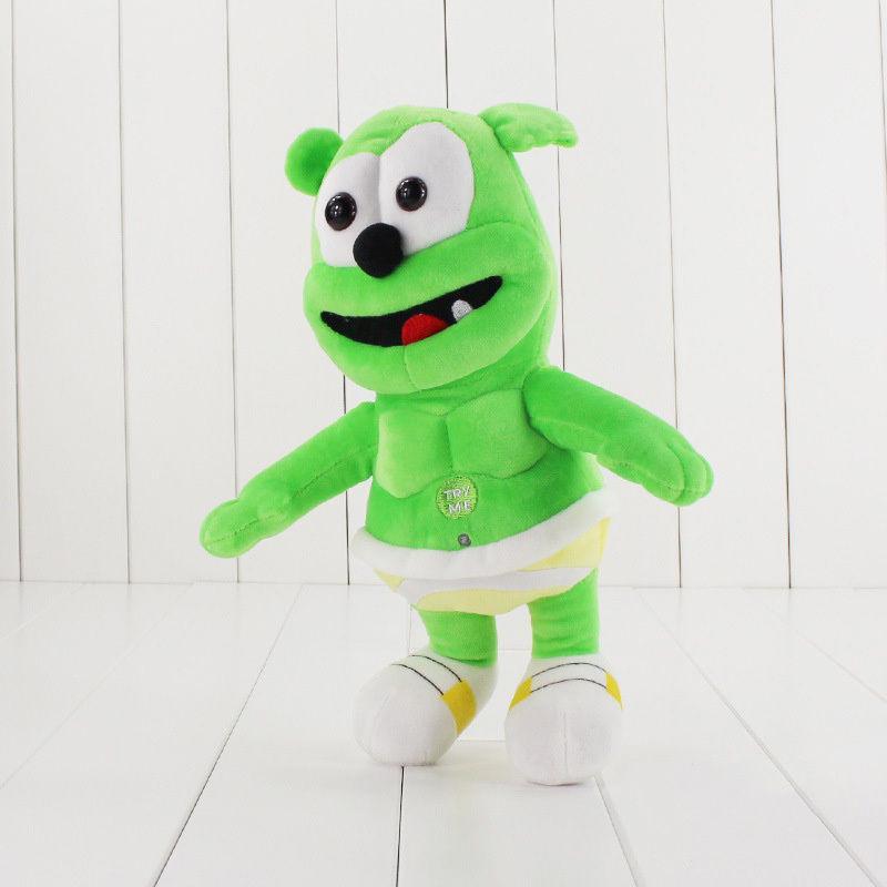 Singing I AM A GUMMY BEAR Musical Gummibar Soft Plush Doll Toy Teddy  Gifts NEW