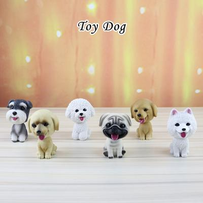 Bulldog Dog Bobbing Head BobbleHead Doll Toy Car Home Ornaments Decor GIFT US