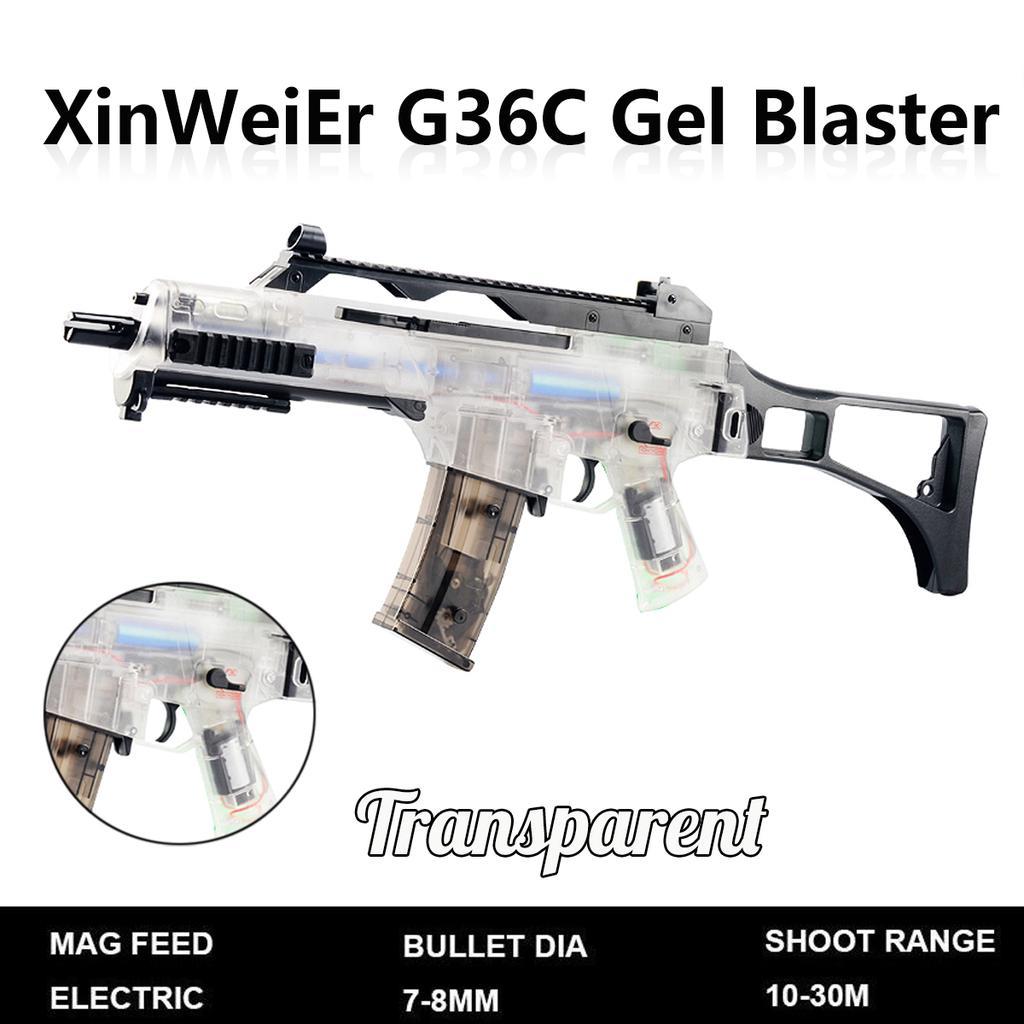 G36C Gel Blaster Toy water Gun Electric Burst Toy Gel Gun For children Outdoor