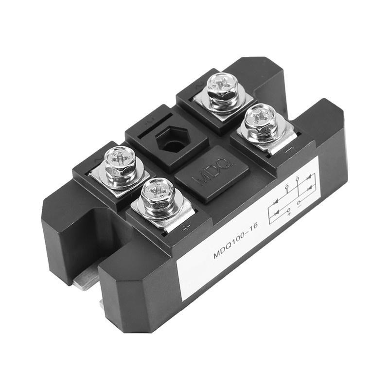 1PC MDQ 100A Amp 1600V Volt Single 1 Phase Diode Metal Case Bridge Rectifier FO