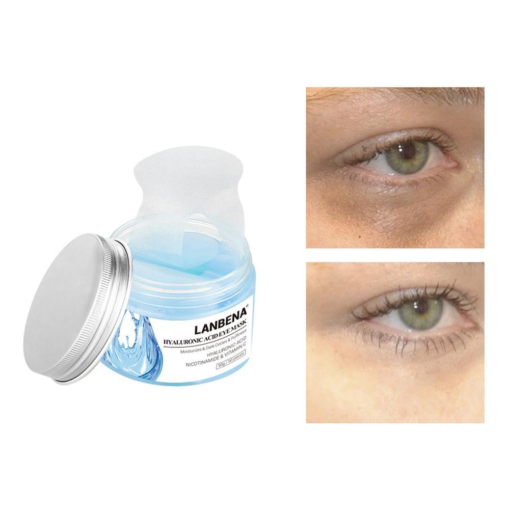 Сыворотка для глаз-патчи LANBENA гиалуроновой кислоты уменьшить темный круг глаз маска под маска для глаз фото