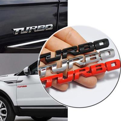 Chrome Alloy Letter TITANIUM Car Sticker S V6 Auto Rear Decal For Ford EDGE