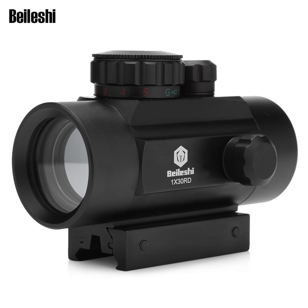 Beileshi taktische holographische Zielfernrohr Rotpunktvisier ...
