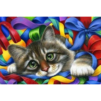Diamond Painting Cat Flower Home Decoration Handcraft Art Full Drill  Embroidery Rhinestone Picture-buy at a low prices on Joom e-commerce  platform