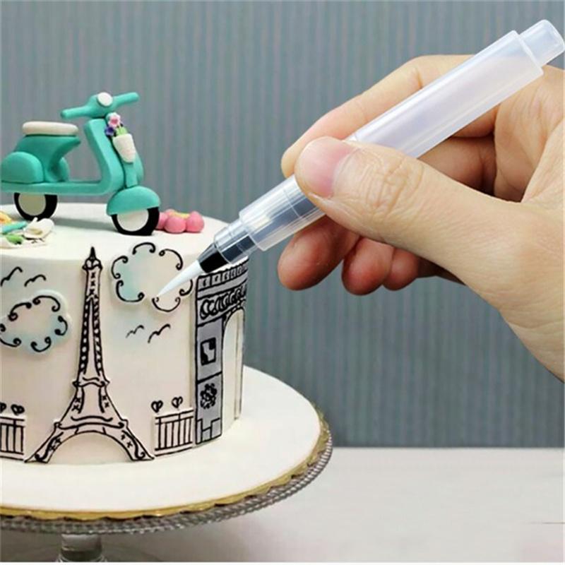 Десерт оформителей торт украшать крем шприц советы Маффин торт перо обледенения, трубопроводов, отделка пера фото