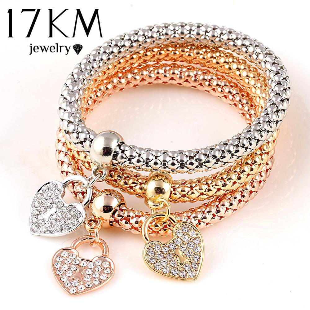 Mother/'s Day gift Heart Style Bracelet Women jewelry 3Pcs Tree of Life Bracelet Musical Note Love Boy and Girl Charm Bracelet