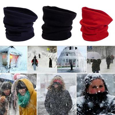 Comfortable Kids Scarf Winter Soft Cotton Neck Cover Warmer Snood Scarves IZD