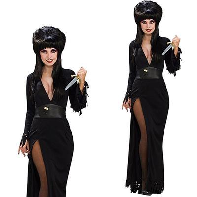 c43d72786e Halloween kostium straszny czarny diabeł cosplay kostium sukienka dla pani  kobieta party suknia halloween