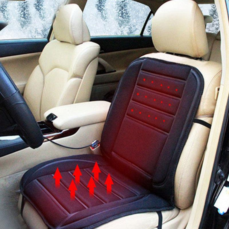 NO//A Universal Car Heated Seat Cushion 12V Heated Seat Cover for Car back heating cushion Car Heated Pad Car Seat Warmer Heater Winter with Temperature Controller /& UK in stock
