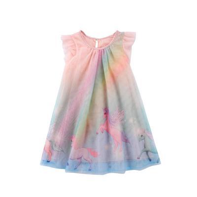 US Baby Toddler Kids Girls Tutu Dress Party Princess Tulle Dress Summer Sundress