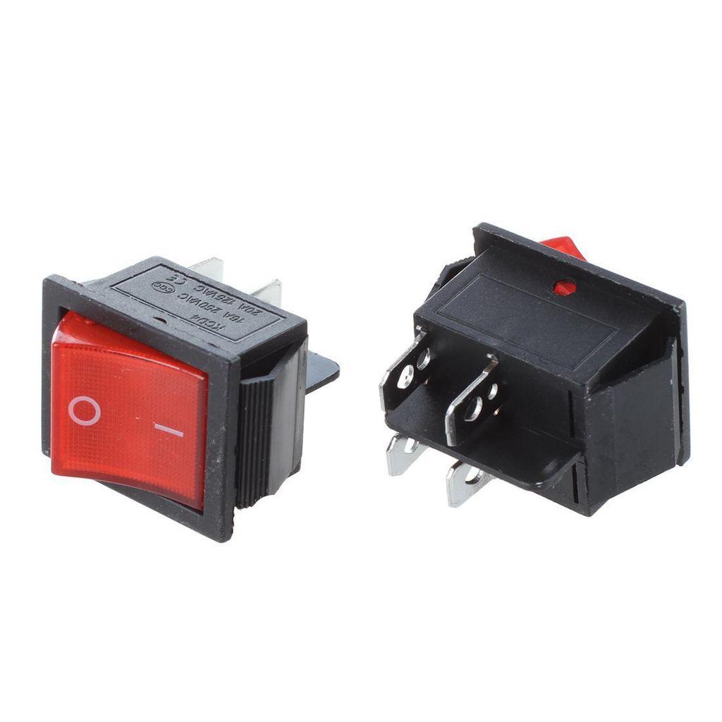Bateau Interrupteur Bascule Double position ON//OFF AC250V//15A 125V//20A 5Pcs