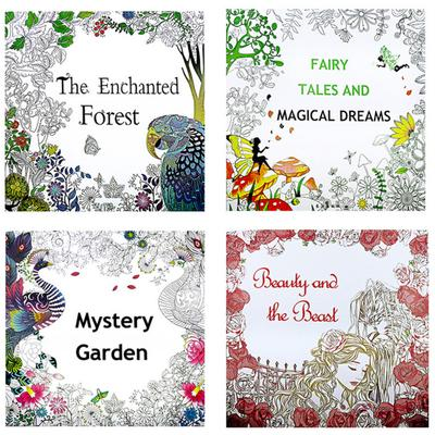 - 1 Pcs Coloring Painting Book Secret Garden Kid Adult Anti-Stress Book-buy  At A Low Prices On Joom E-commerce Platform