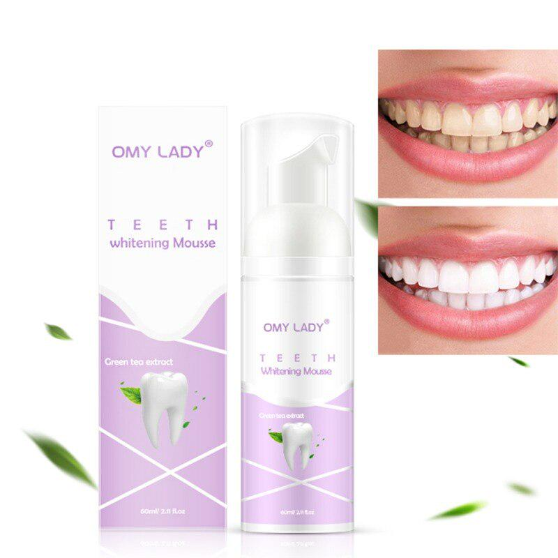 Teeth Cleaning Mousse Foam Whitening Toothpaste Remove Tooth Yellow Stain Bad Breath Oral Hygiene Products 60ml Buy From 5 On Joom E Commerce Platform