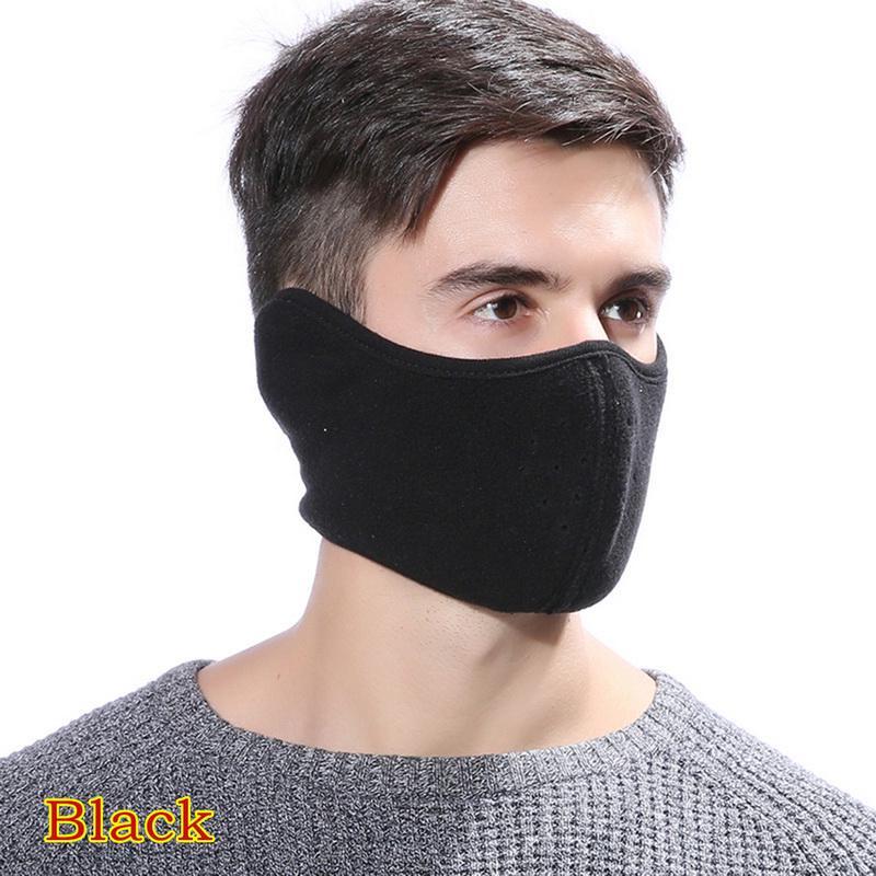 1Pc Cartoon cotton black mouth half face anti-fog anti-dust fashion masks  MC