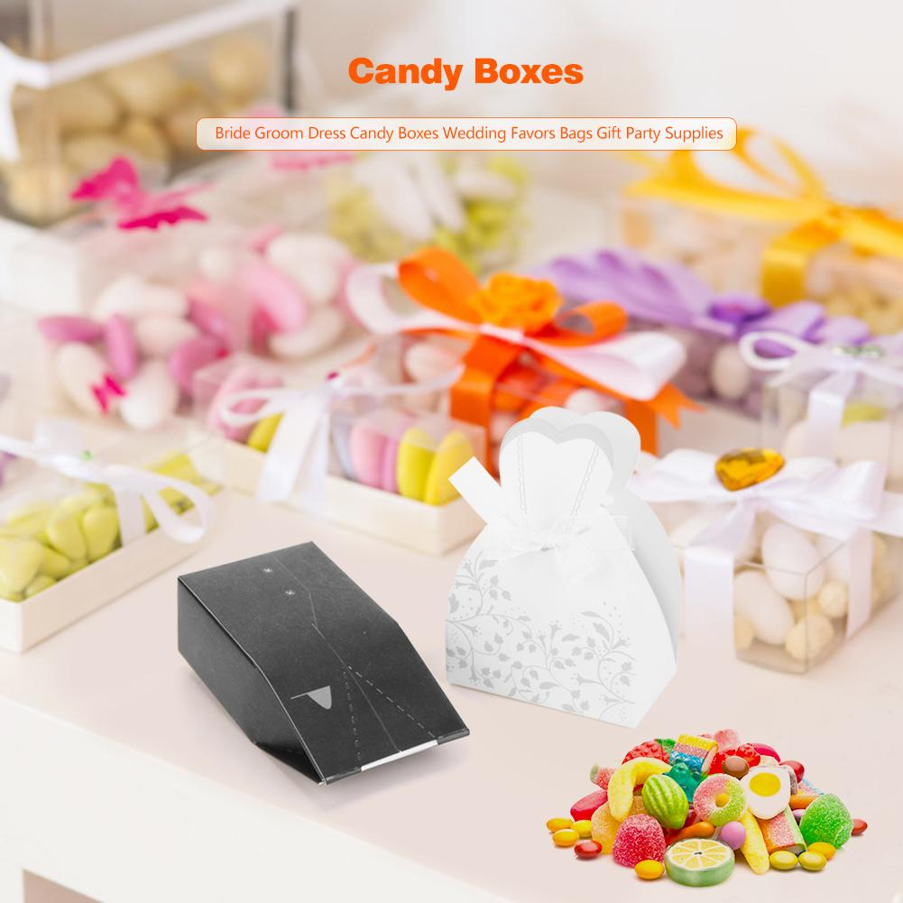 12Pcs Candy Box Sweet Shaped Case Storage Container Colorful Party Wedding D