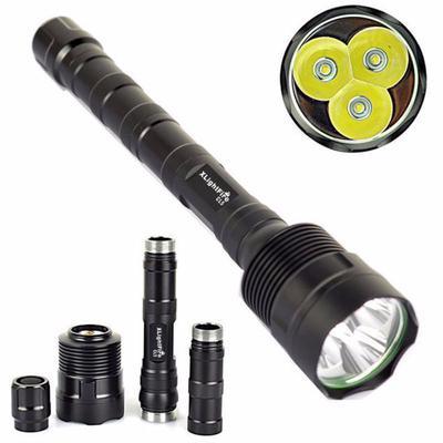 18650 Flashlight Torch XLightFire 3T6 Super Bright 6000Lm 3x XM-L T6 LED 5Mode