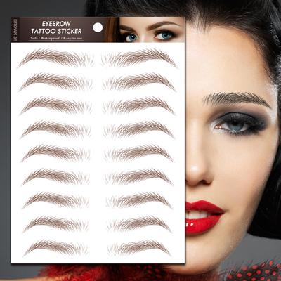 Eyebrow Sticker Bionic Eyebrows Semi Permanent Waterproof Tattoo Eyebrow Buy At A Low Prices On Joom E Commerce Platform They are a great fit for those of you who. usd