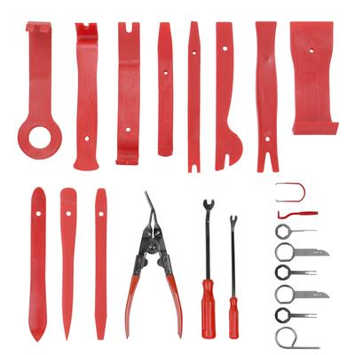 GYMAN Trim Removal Tools 19Pcs Panel Removal Tools Install Kit for Car Panel Dash Radio Upholstery Fastener with Durable Storage Bag