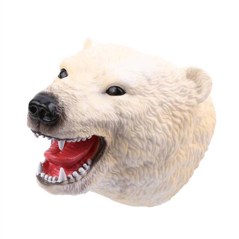 Kutup Ayısı El Kuklalar Eğitim Kukla Modeli Hediyeler çocuklar Için