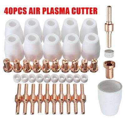 60PCS PT31 Plasma Cutter Cutting Accessories Consumable Tips Nozzeles  CUT40//50