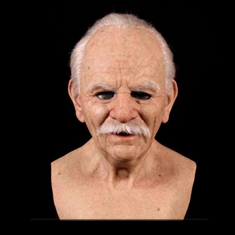 латексная маска деда