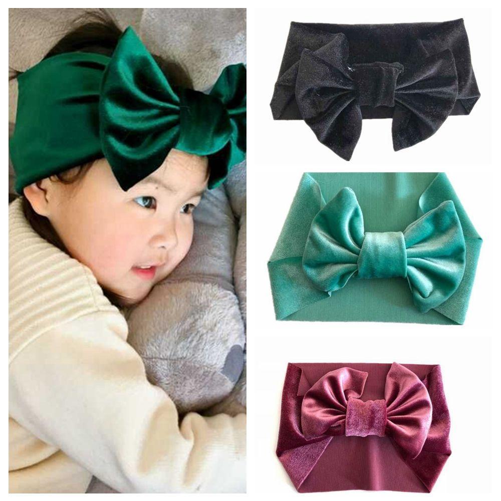 20pcs Nette Elastische Baby Kinder Mädchen Haarband Bogen Stirnband Kopfschmuck