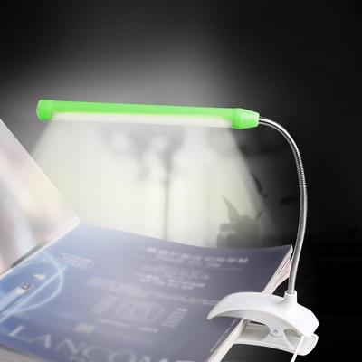 Useful Usb Clip-on 13 Led Light Clamp Bed Table Study Desk Reading Lamp Adjustable New Lights & Lighting