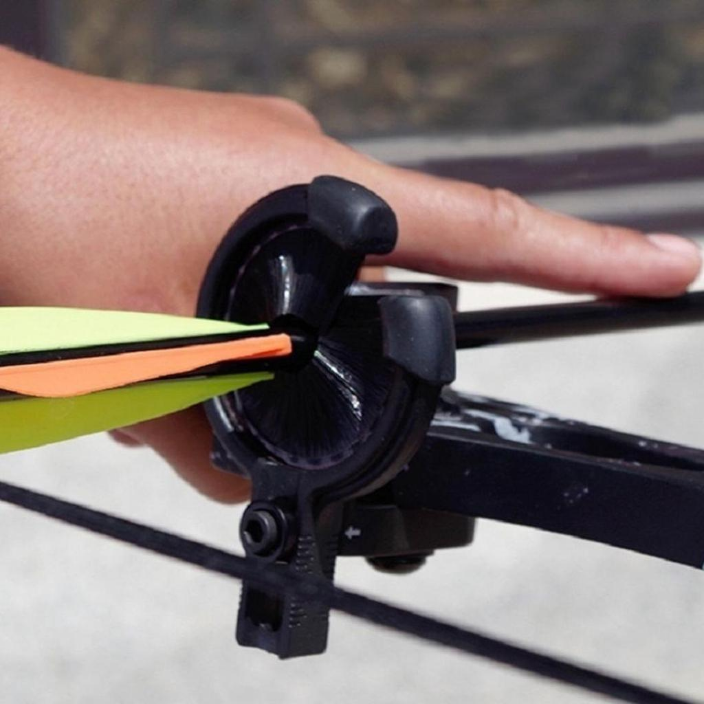 Bow Brush Capture Arrow Rest Both Left and Right Hand