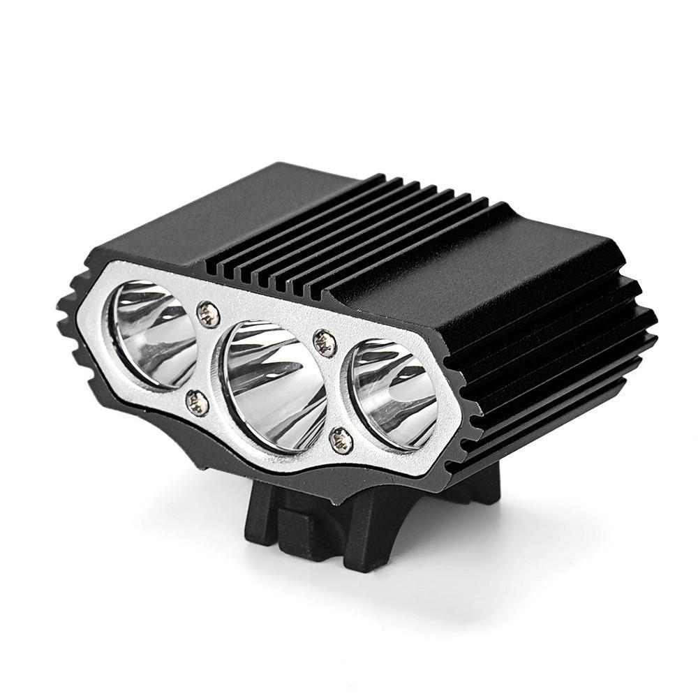 Battery+Rear Light Super Bright 15000LM X3 T6 LED Night Bicycle Light Headlamp
