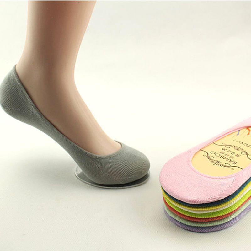 10PCS男士棉硅胶防滑隐形袜浅口运动船袜