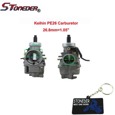 STONEDER PE26 Carburetor Carb For Chinese YX 125cc 140cc 150cc Engine Pit  Dirt Motor Bike