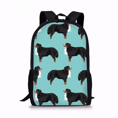 af576086586f Girls Bernese Mountain Dog Printing School Bags for Kids School ...