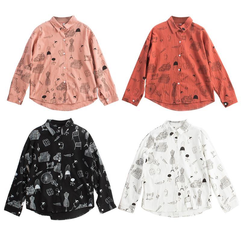 Женщин в уличной Batwing рукав рубашки белье из хлопка напечатаны мультфильм Весна летних топов – купить по низким ценам в интернет-магазине Joom