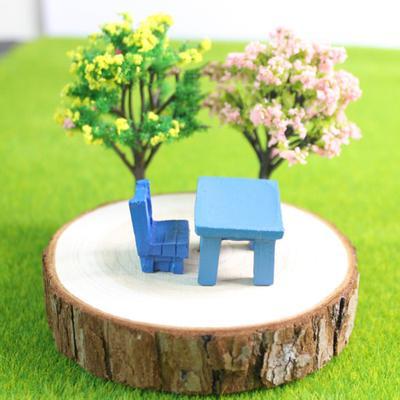 1:12 Miniature Bear with Coffee Pot Model Dollhouse Landscape Garden Decor