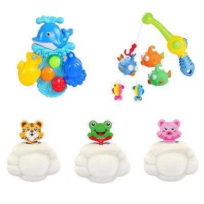 Kids Baby Bathroom Swimming Bath Toys Cute Elephant Watering Pot Showering Toys
