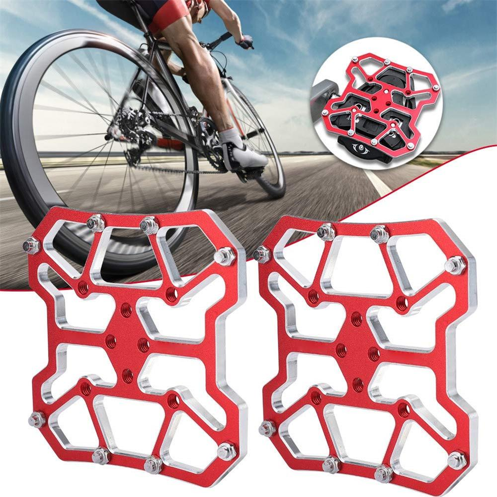 2Pcs Mountain Bike Cycling Self-locking Pedal Cleats For Road Cycling Shoes Soft