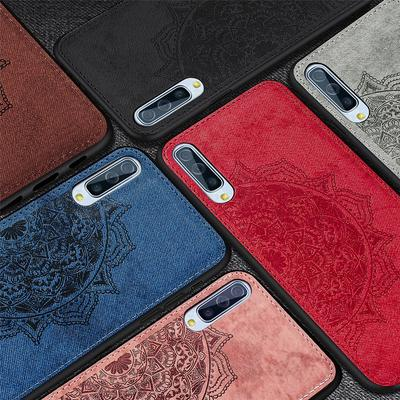 3D Relief Leather Bumper Case for Samsung A01 A21 A51 A71 A41 A11 M21 M31 M30S A21S A20 A30 A50 A30S A70 A10 A20S S8 S9 S10 S20 Plus Note 10 Lite 20