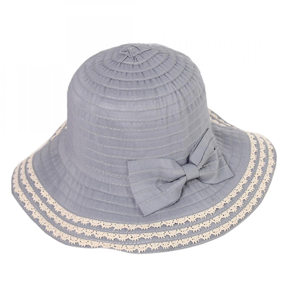 192a1230492 Women Sun Protection Beach Hat Lady Derby Cap Wide Brim Floppy Fold ...