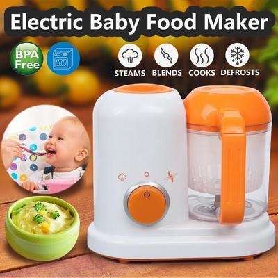 200-250V Electric Baby Food Maker All In One Toddler Blender Steamer Processor BPA Free EU Plug