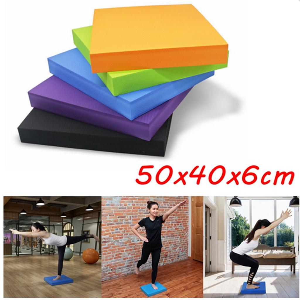 Posture Stability Gym Balance Pad Mat Cushion Wobble Board Yoga Pilates Physio