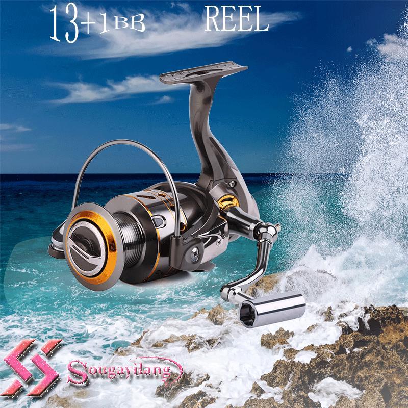 Fly Fishing Reel 2+1BB 3BB Right Left  Freshwater Plastic Fishing Spinning Reel