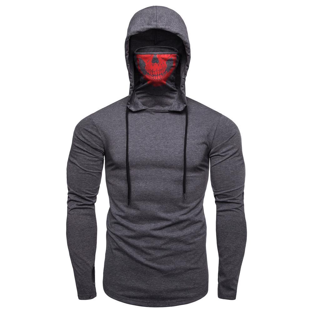 Zipper inclinado com capuz com capuz casaco de lã casaco esportes terno moda casual roupas masculinas
